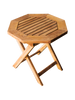 SMALL OCTAGONAL SIDE PICNIC TABLE (lot of 4)