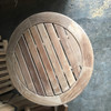 ROUND END TABLE  (Lot of 2)