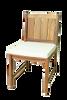 (4 seat) KONA TEAK BISTRO SET - Liquidation Sale - (4) set min.