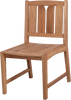 (4 seat) KONA TEAK BISTRO SETS FOR COMMERCIAL RESTAURANTS - Liquidation Sale - (4) set min.