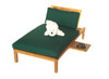BERMUDA CHAISE LOUNGER (lot of 4) + Free Mini Lounger