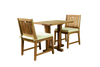 (2 seat) KONA TEAK CAFE SET - Coachella Valley Sale