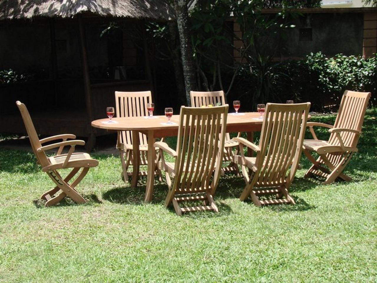 Super Montauk Teak Dining Set Andrewgaddart Wooden Chair Designs For Living Room Andrewgaddartcom