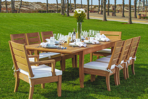 DIAVILLA TEAK DINING SET (6 seat)
