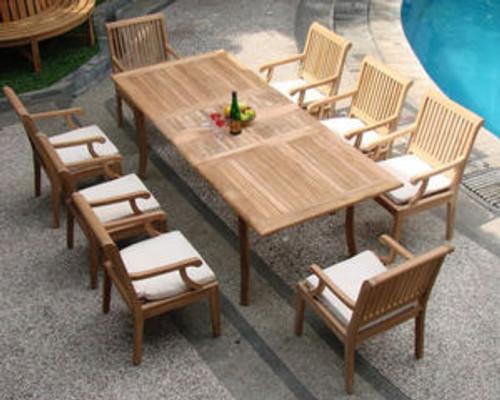 KODRA TEAK DINING SET (8 seat) - II