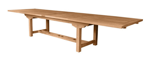 RECTANGULAR DBL EXTENSION TABLE 157