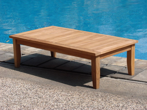 TEAK COFFEE TABLE 47 - II