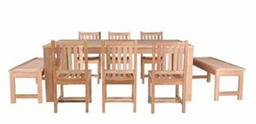 COASTAL TEAK DINING SET