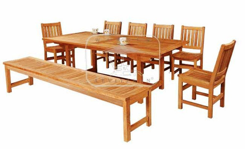 GEORGIALA TEAK DINING SET