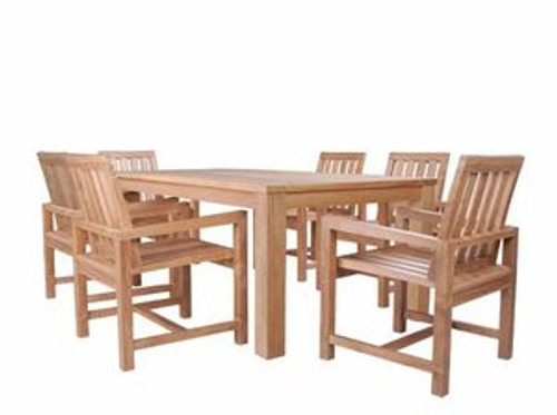MILAN TEAK DINING SET