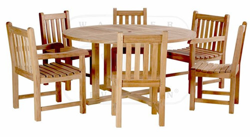 LUCCA TEAK DINING SET - III - out of stock