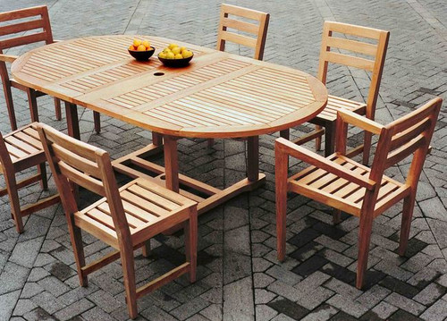 CONTEMPO TEAK DINING SET - I - out of stock