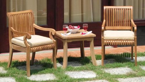 KUTA TEAK CHAIR SET