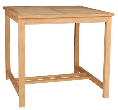 SQUARE PUB TABLE 43 - out of stock