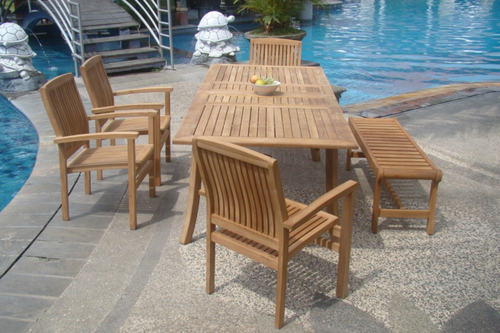 Teak Princeton Outdoor Set