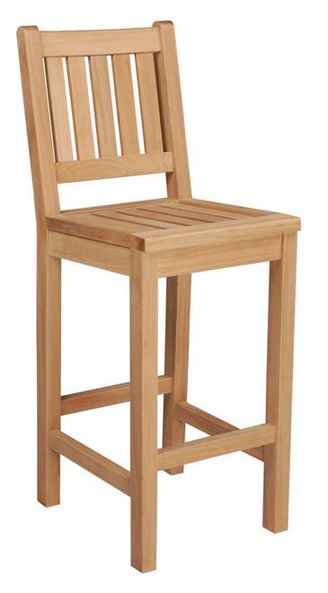 Teak Balboa Bar Chair No Arms