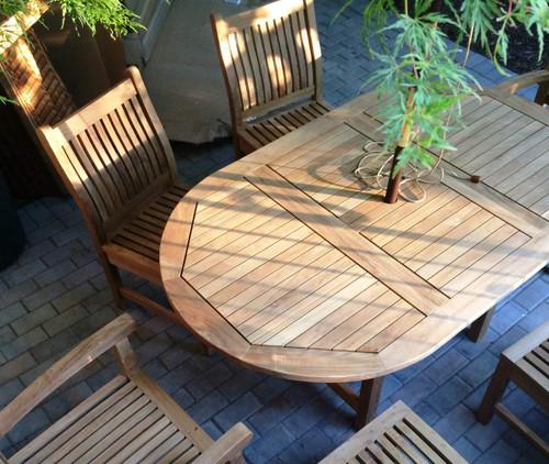 RAND TEAK DINING SET (6 seat)