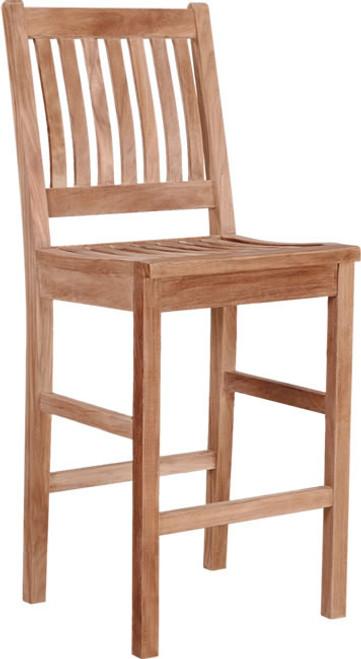 Avalon Bar Chair - Teak