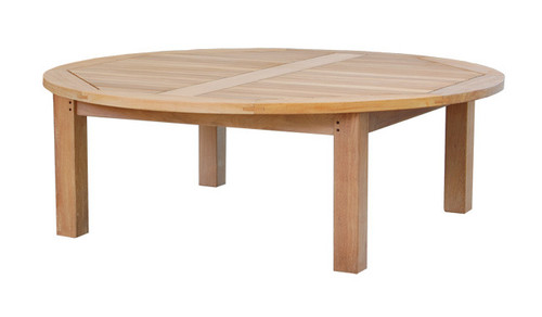 extra large round teak coffee chat  table