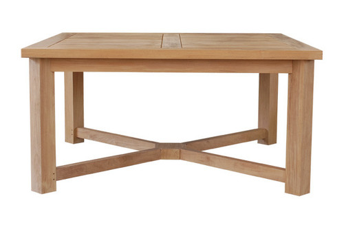 Extra Heavy Large Teak Table