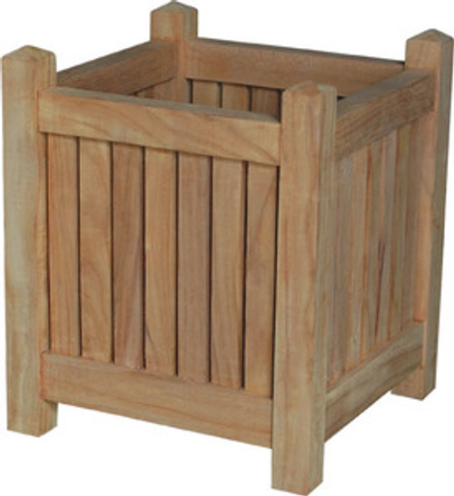 TEAK PLANTER BOX - II