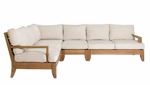 Teak Diavilla Sectional Set