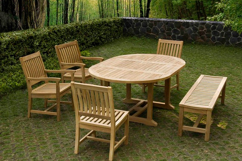 MASSA TEAK DINING SET