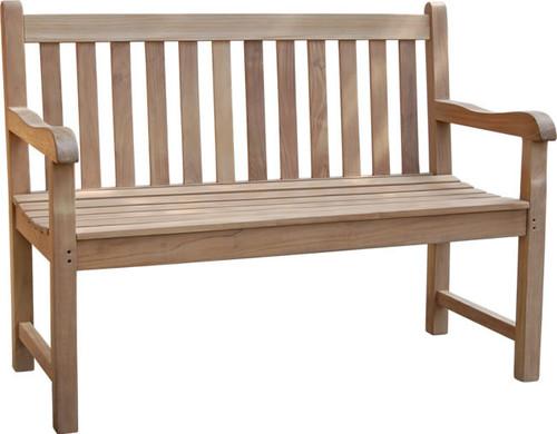 4' Teak Classic Bench
