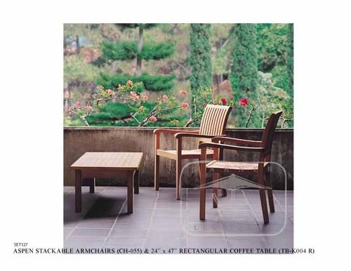 (2 seat)  ASPEN CHAT SET