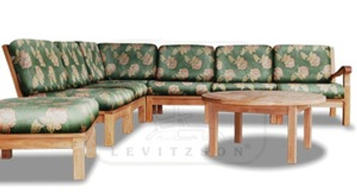 (8pc) MARINA DEL REY SECTIONAL DEEP SEAT SET