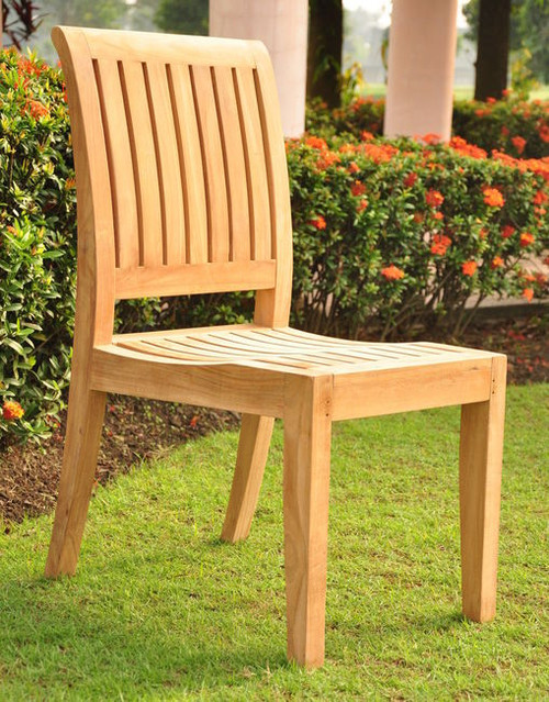 The Pacifica Teak Side Chair