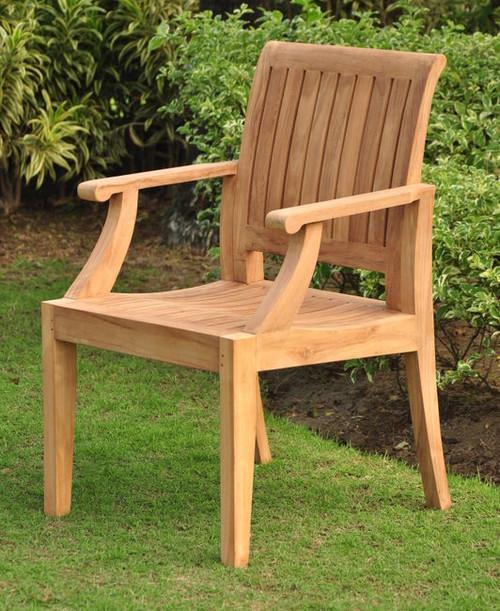 Teak Pacifica Arm Chair