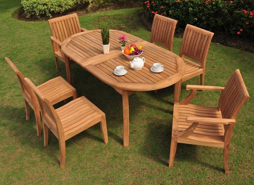 PACIFICA TEAK DINING SET - II