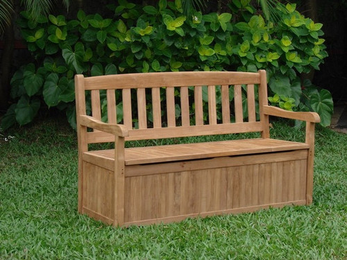 Rockford Storage Bench for outdoor use