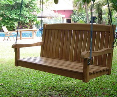 Teak Rockford Swing Bench