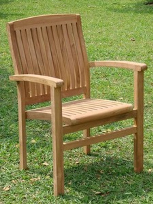 RAND STACKING ARM CHAIR