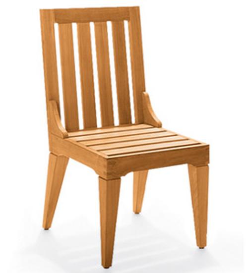 Teak Morea Armless Side Chair