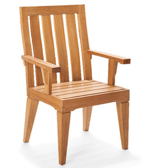 Morea Teak Arm Chair by WOOD-JOY Teak Co.