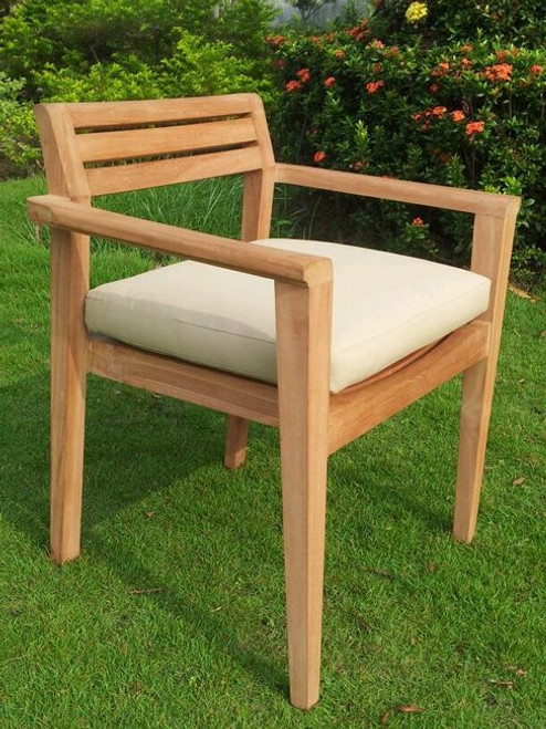 Montclair Teak Stacking Chair