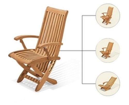 teak beach chair