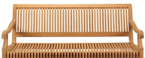 Extra large Kuta teak swinging bench