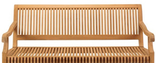 Extra large Kuta teak swinging bench