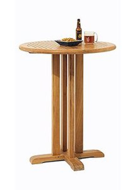 Tall Teak Bar Table