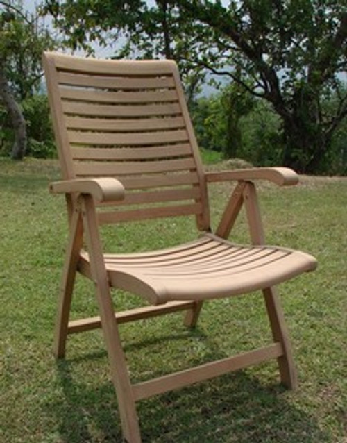 Fontaine Reclining Chair - All Solid Teak
