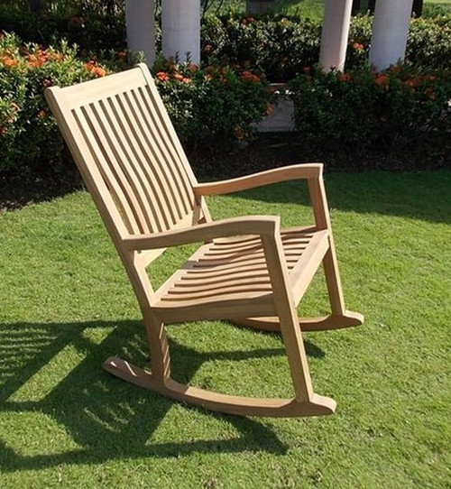 Teak CHILLEA Rocking Chair