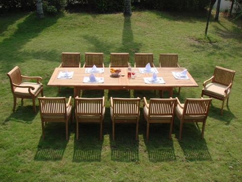 KUTA TEAK DINING SET - VII