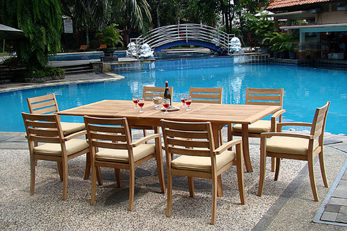 Aston travota stacking chairs with table