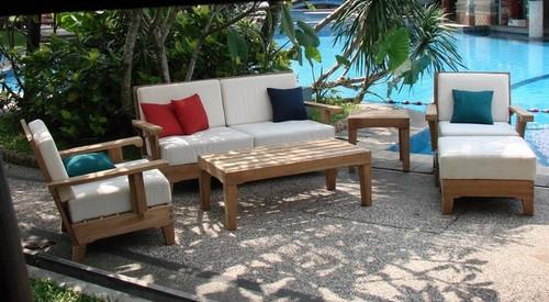 Attractive teak Morea Set furniture.