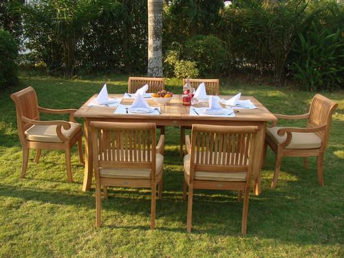 KUTA TEAK DINING SET MIDSIZE - IV
