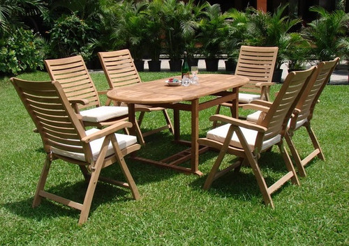 FONTAINE TEAK DINING SET (6 seat) - III